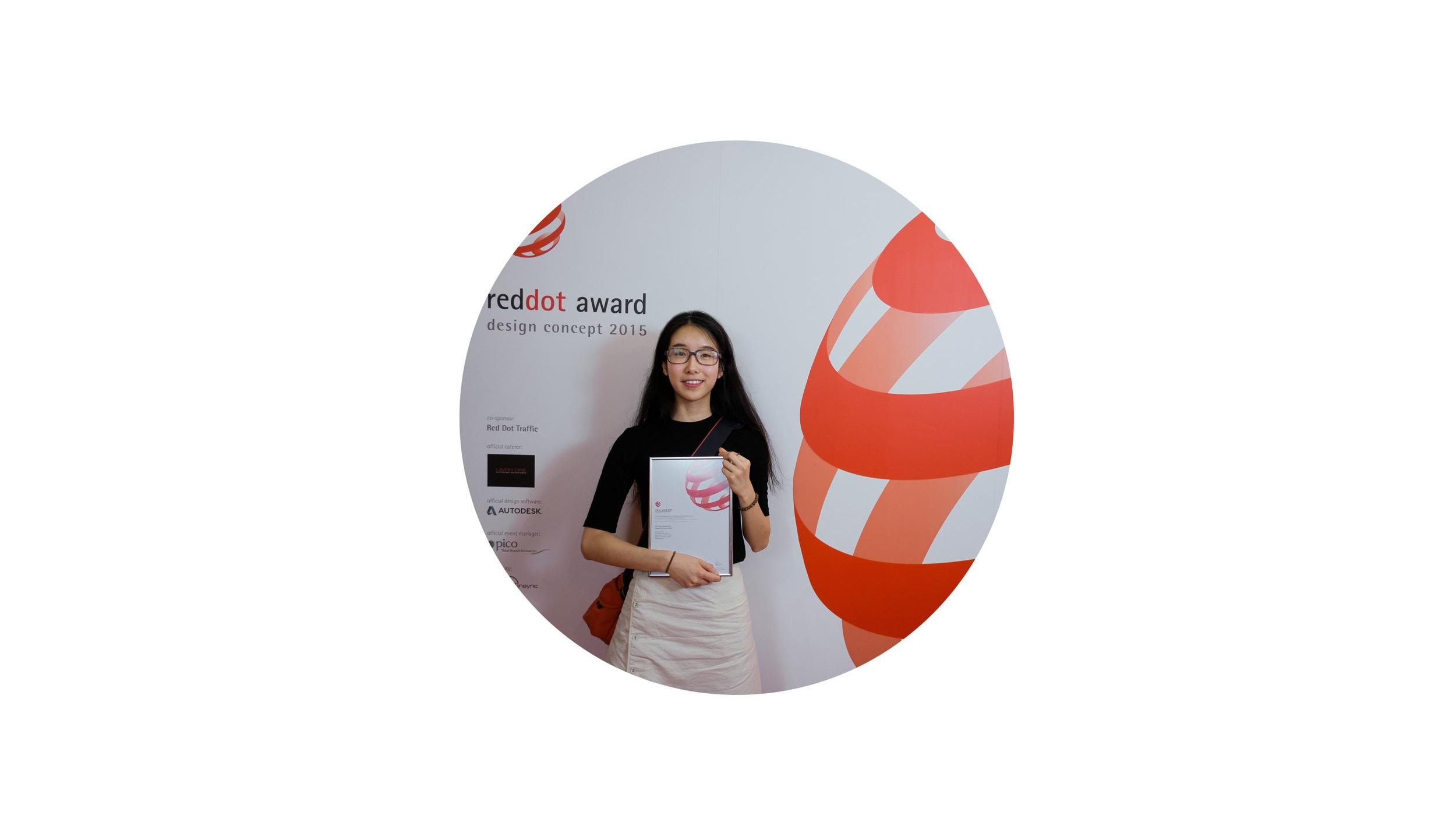 Reddot Design Award - 2015