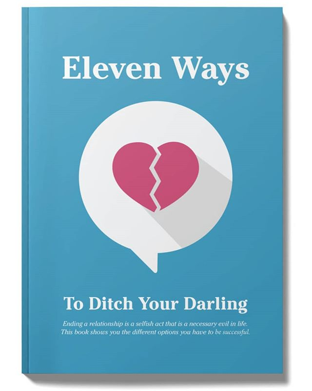 A humorous little book I wrote and designed about all of the modern ways to break up with someone.  #book #design #designer #alberta #canada #yyc #breakup #ghosting #texting #socialmedia #illustration #bookdesign #author #funny #humor #love #relationships #dumped