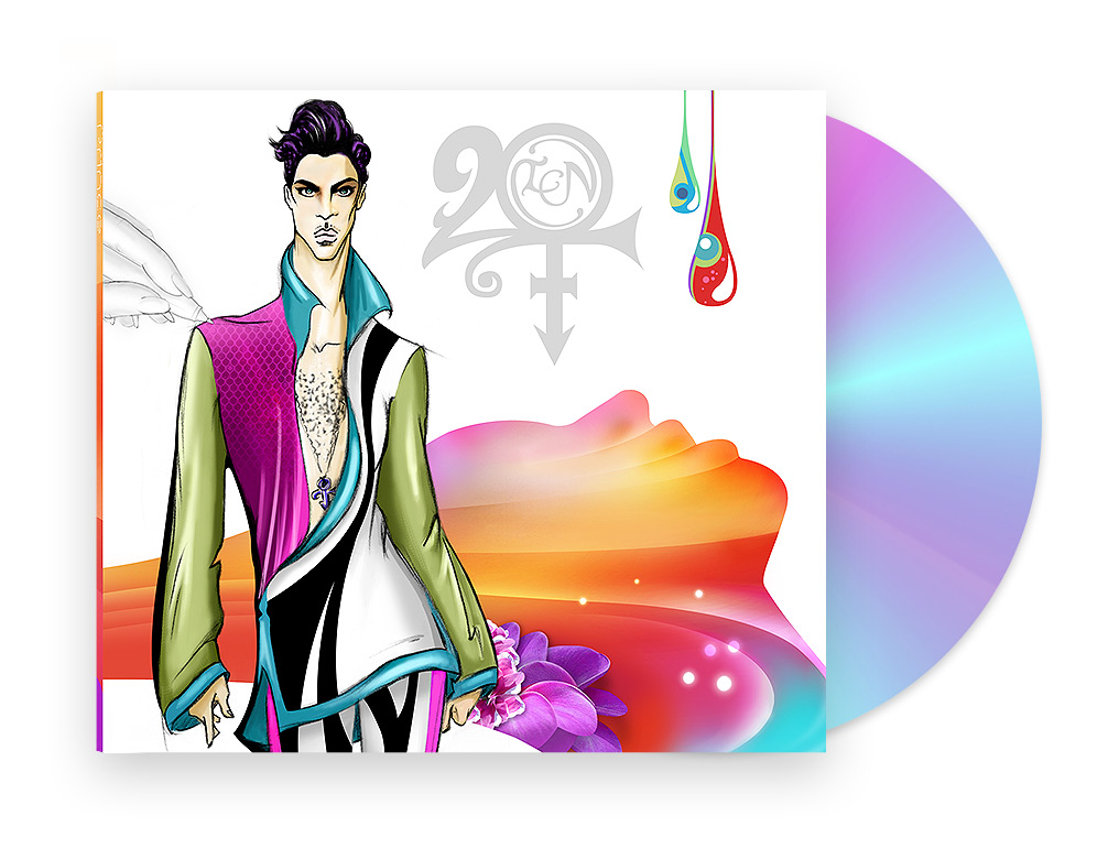 PRINCE 20TEN - Album Cover & Booklet Design