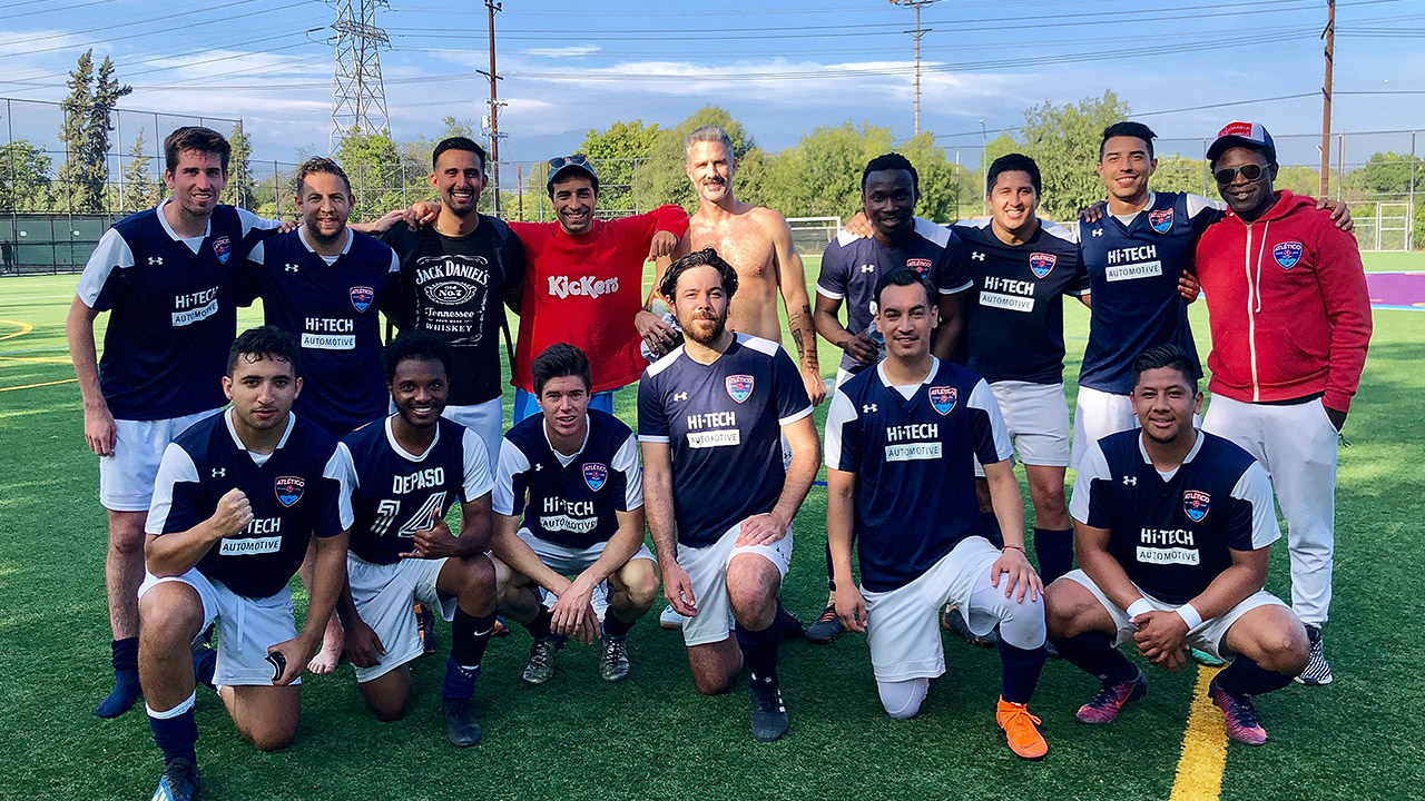 ATLETICO SILVERLAKE - A competitive football club that I coach and play for.