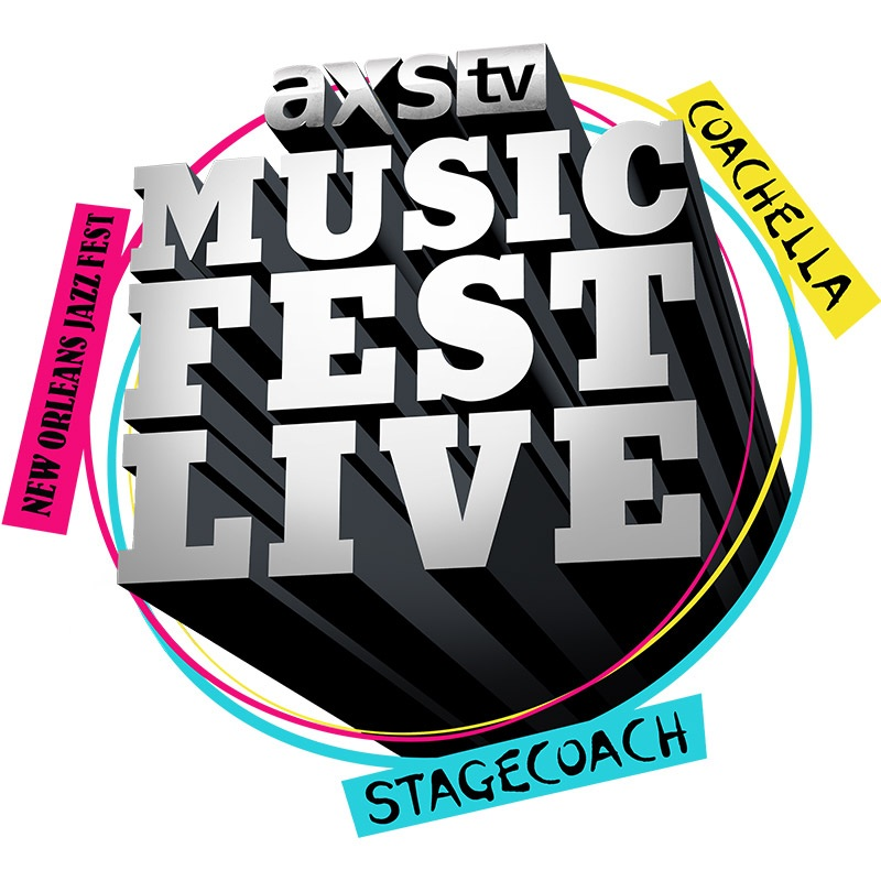 Official AXS TV Festival Season Logo