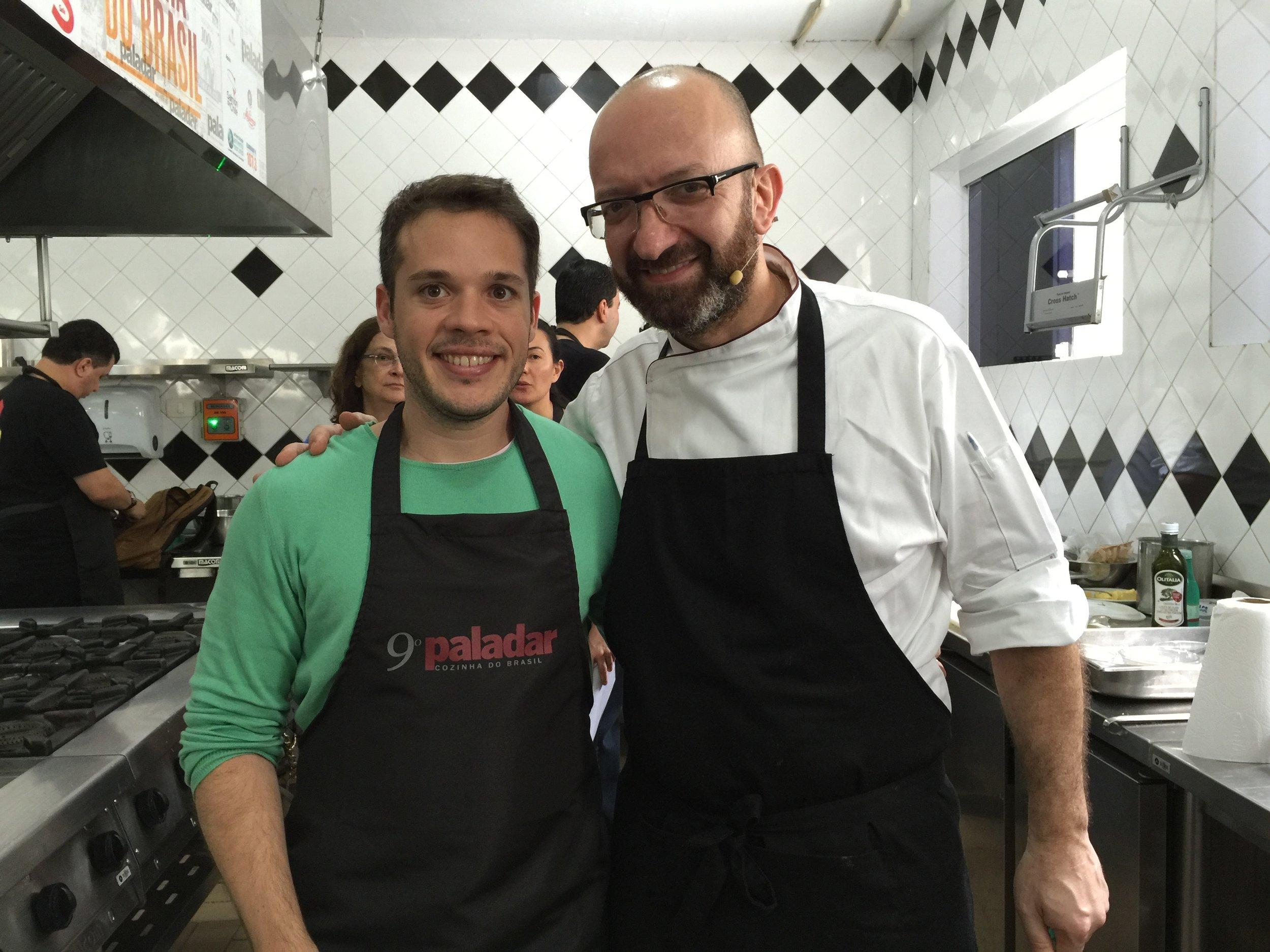 Com o Chef Salvatore Loi