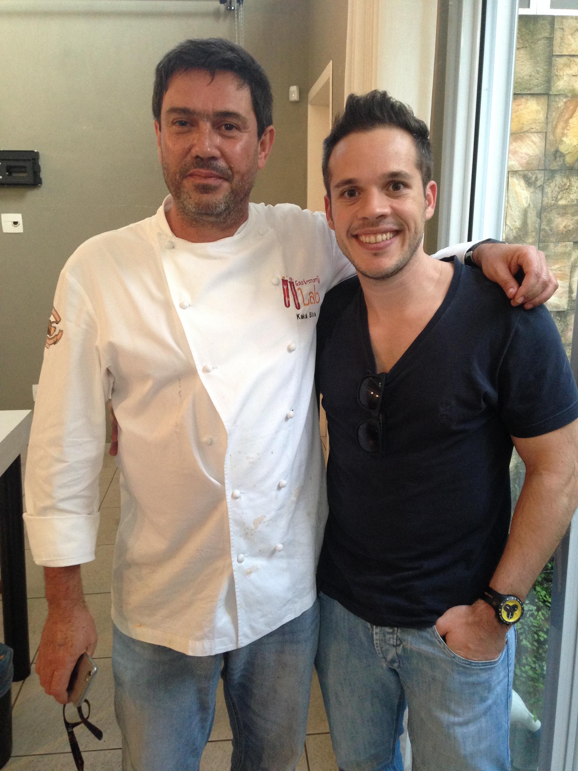 Com o Chef Kaká