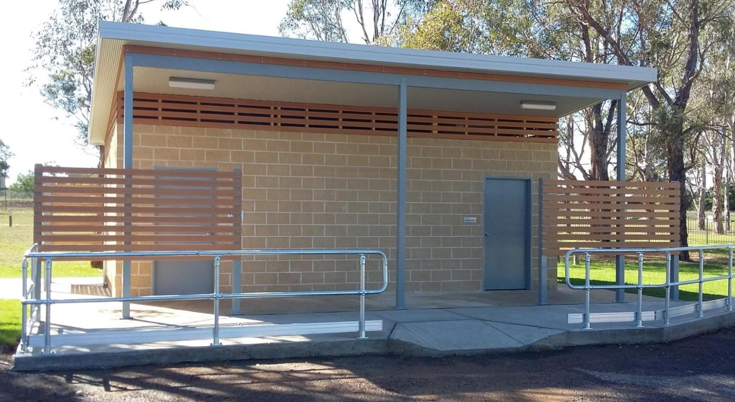 Wollondilly Shire Council Toilet Block