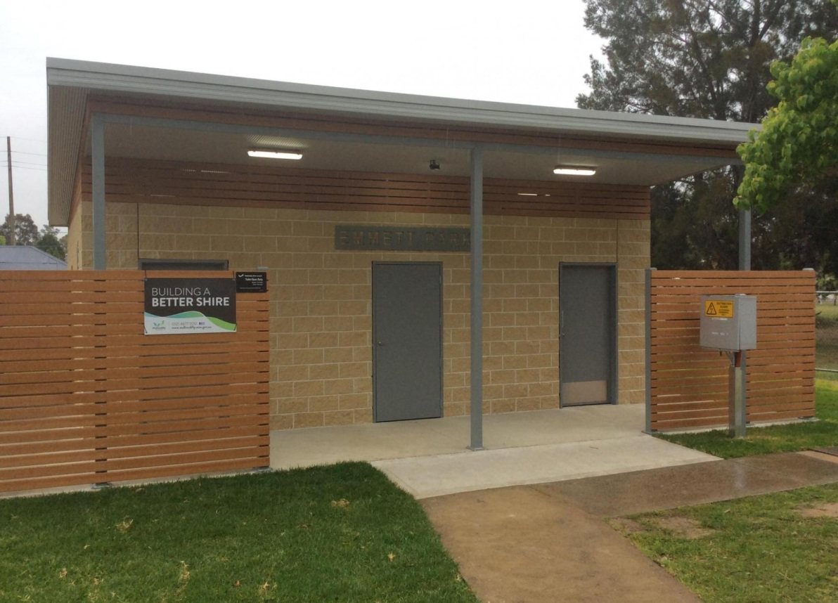 Wollondilly Shire Tahmoor Toilet Block