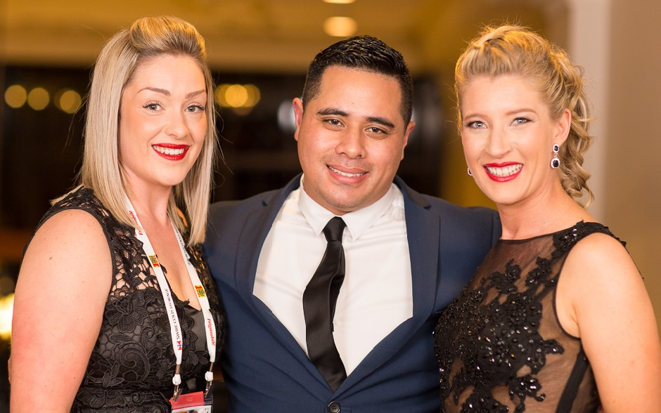 Victorian State Finalist - Stacey Lamb (Americold), Queensland State Finalist - Dane Stowers (Americold)and NSW State Finalist - Melissa Hunt (S&D Logistics)