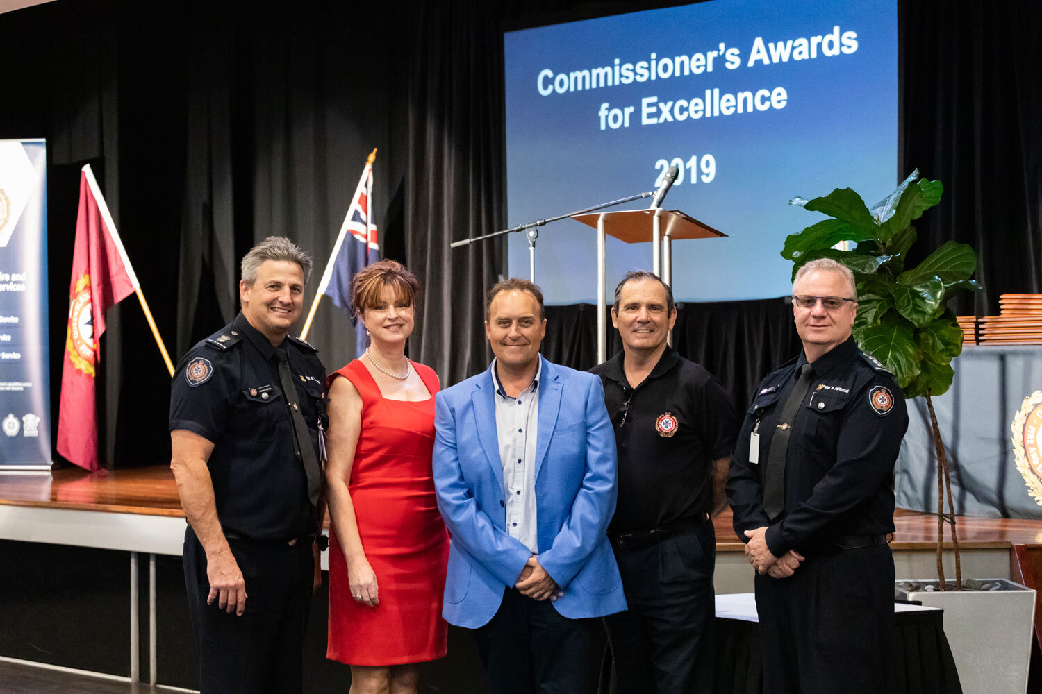 The RWTA Ammonia Emergency Management Training, delivered by the Queensland Fire and Emergency Services (QFES) Training and Emergency Management South Unit (TEMS) has won the Highly Commended Achievement gong at the Commissioners Awards for Excellence 2019.  This was awarded for collaboration between the RWTA and QFES in recognition of the partnership and creation of this specialised training. It addresses risks associated with the use of anhydrous ammonia in the Refrigerated Warehouse and Transport Industry. This collaboration identified risks associated in the initial stages of highly dangerous ammonia related incidents and created a tailored training platform to mitigate these dangers.  It is an exemplary demonstration of the ability of the RWTA to work closely with industry customers and the QFES to create a risk based approach to ensure a safer environment for employees and the community alike.