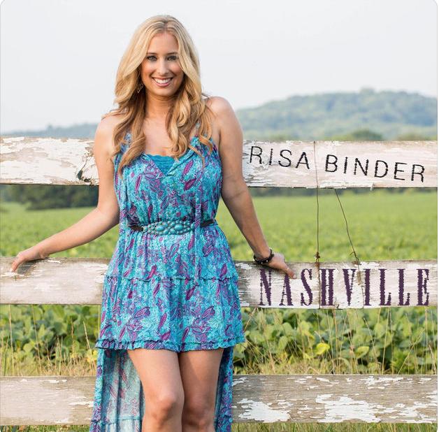 "Single, ""Burning Down the Dark,"" for artist, Risa Binder"