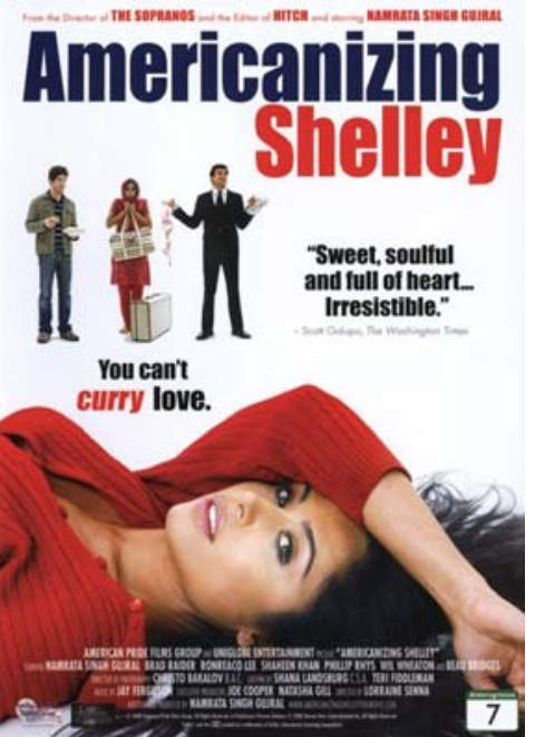 """American Babe,"" featured in motion picture, Americanizing Shelley"