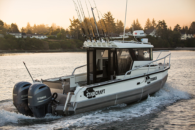 stabicraft 2750 ultra centrecab XL - With lean-forward glass and immense cabin space accompanied by 360 degrees of access to every usable space, the 2750 Ultra Centrecab XL is a serious aluminium offshore beast.