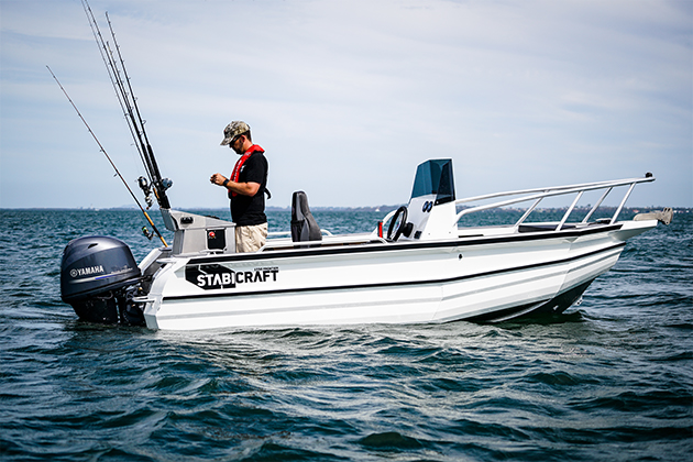stabicraft 1550 frontier - The 1550 Frontier is a dedicated fishing platform borne out of the collaboration between Matt Watson and Stabicraft. In Matt's own words