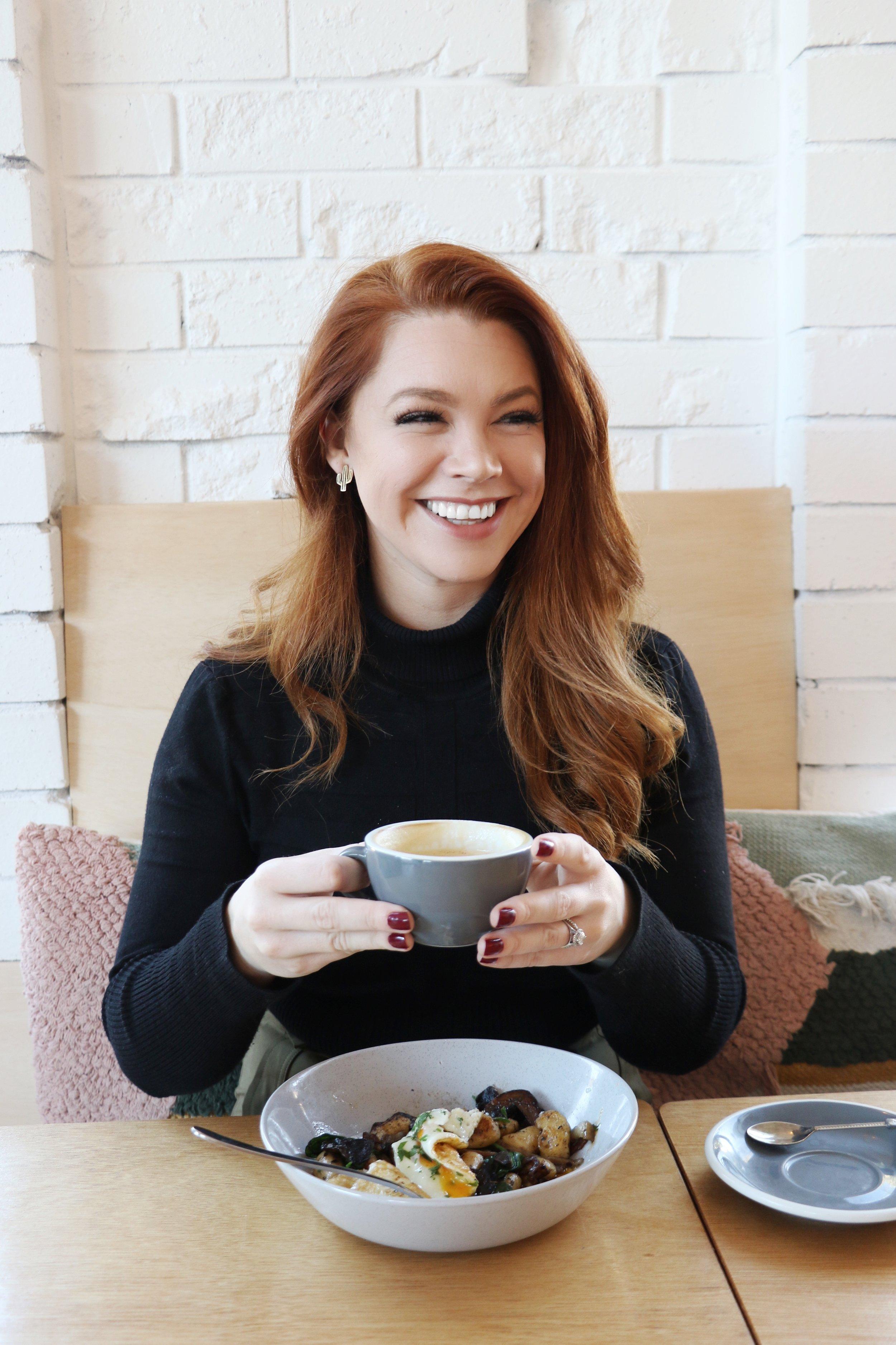 Coffee at Holly Rayes