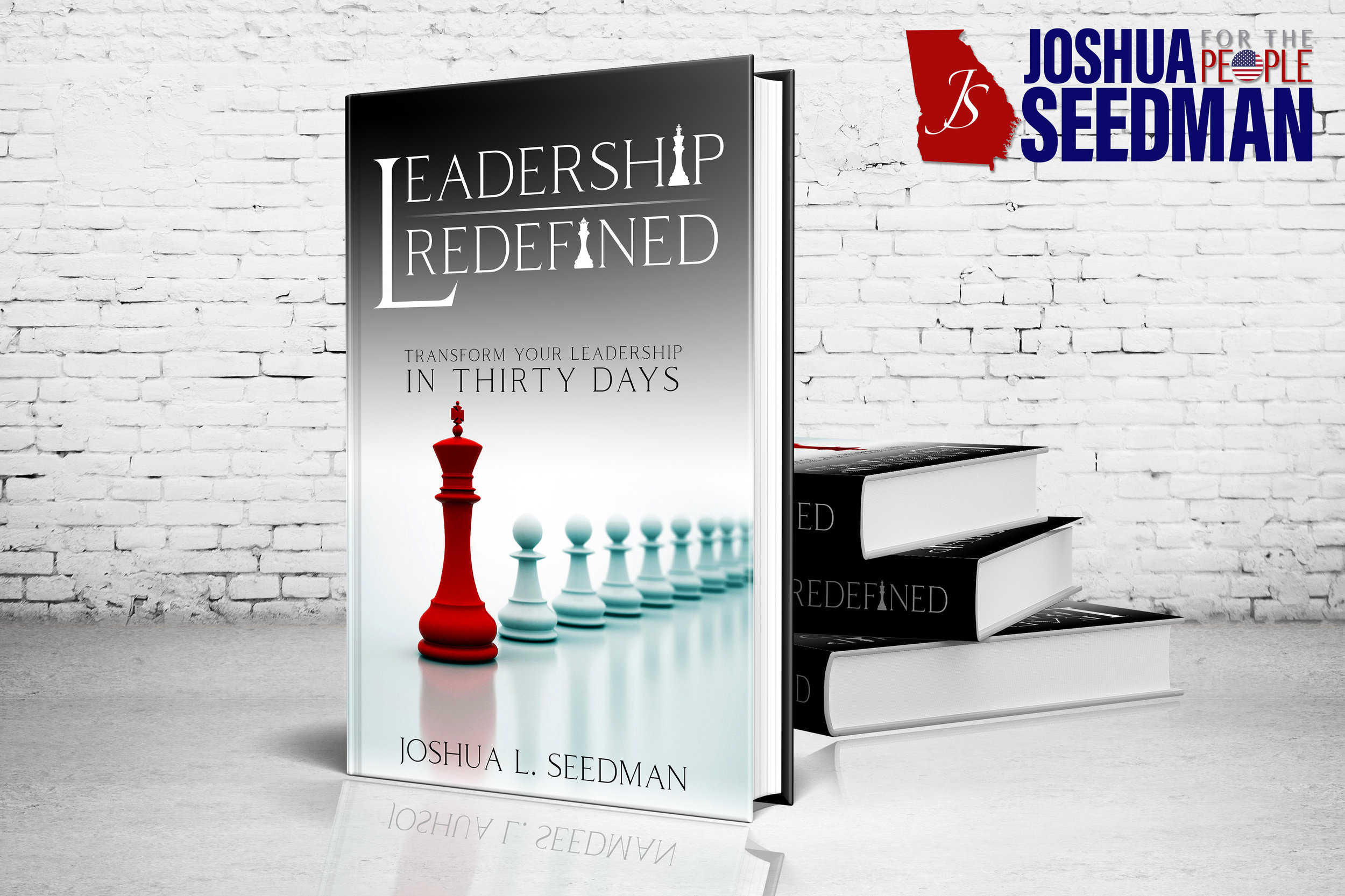 Leadership   Redefined  Joshua Seedman Published Book