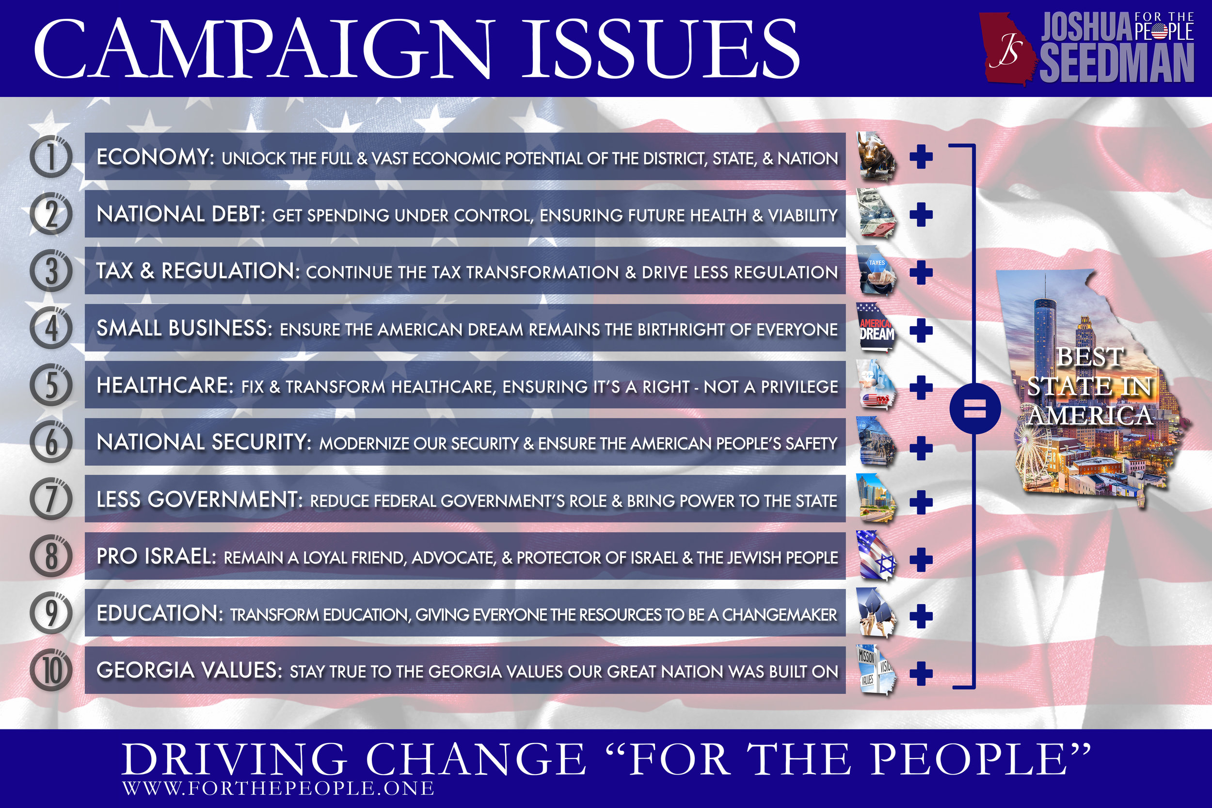 Campaign Issues Overview  + Click to Enlarge