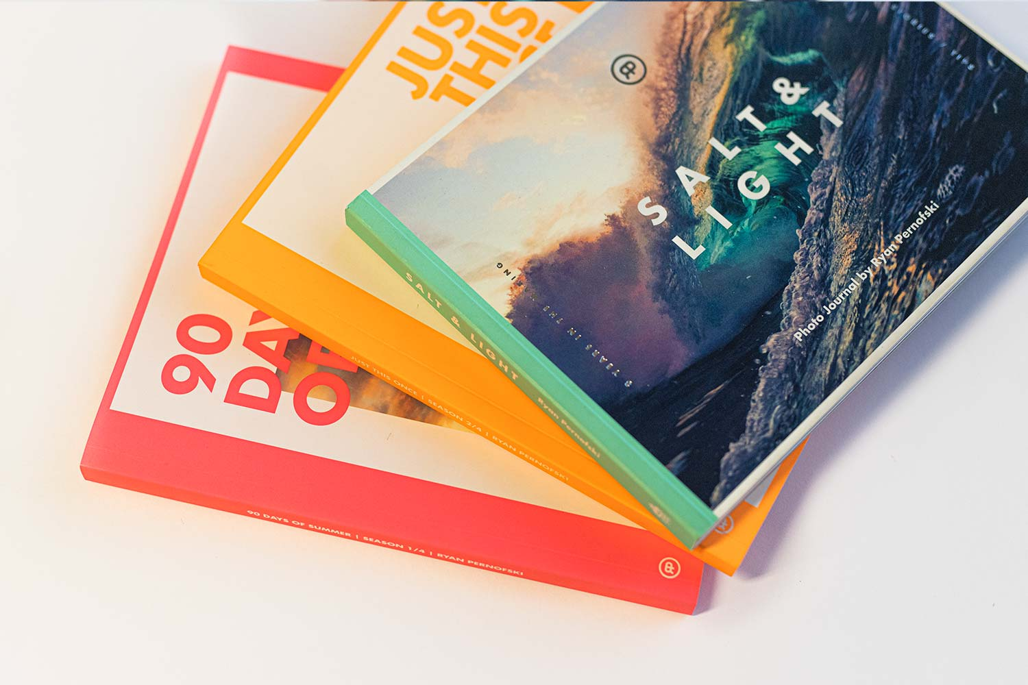 Photo Books - Photo Journals by Ryan Pernofski (signed copies)