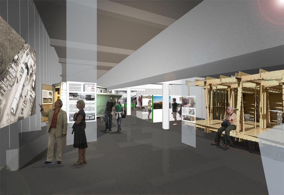 Kiwi Prefab exhibition, Puke Ariki, New Plymouth (2012-13)