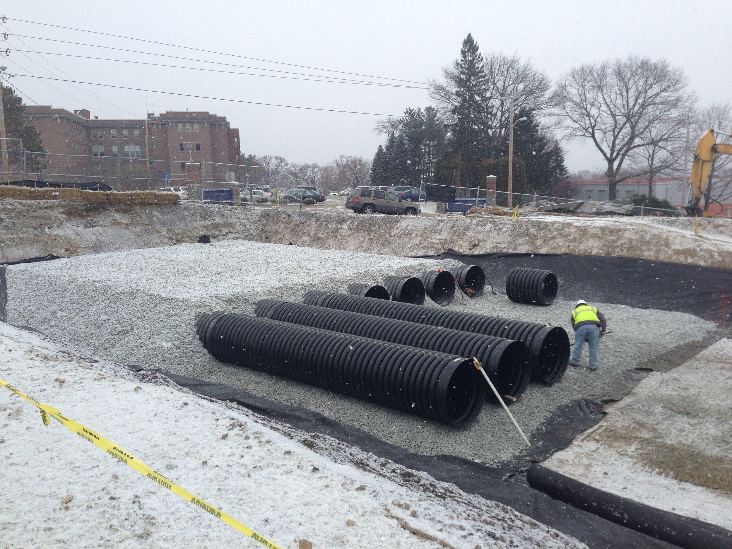 Underground Utility Installation -
