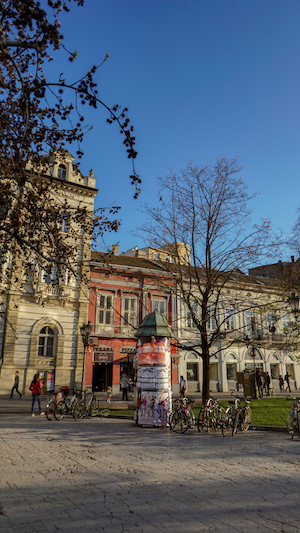 Novi Sad in Springtime