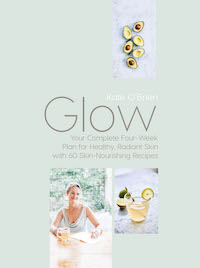 GLOW: Your Complete Four Week Plan for Healthy Radiant Skin by Gill Books is available now in leading bookstores and on line.