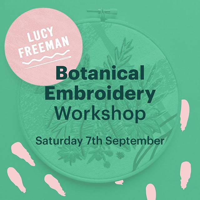👋🏻 Hey lovely people. @lucyfreeman_design is hosting a class at The Greenhouse teaching contemporary embroidery! She'll be showing you how to design botanical imagery and all the stitches needed to create your embroidery art.  All sewing materials, hoops, imagery stencils and fabric are provided AND you can take it all home afterwards to continue your beauties 🙌🏼 Suitable for all abilities so don't be shy.  Be sure to BOOK on quick as tickets are going to fly! You can get a ticket by visiting @lucyfreeman_design profile page, link in the bio.  Saturday 7th September (6-8pm)  #Nicegirlsneedleclub #embroidery #madeinyorkshire #coworking #coworkingspace #coworkingspaces #sharedworkspace #flexible #workspace #office #work #wework #meanwood #independentleeds #smallbusiness #hotdesk #entrepreneur #creative #innovator #freelance #digital #futureofwork #leedslife #leeds678 #craftisbest #leedspopup #meanwood #leedsevent #openstudio @artfullmag