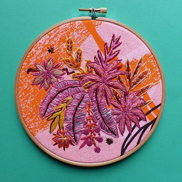 YOU could make this - It's true!  Botanical Embroidery Workshop.  Saturday 7th September (6-8pm) £30 per ticket. 🌱  Visit @lucyfreeman_design to book your tickets - link is in her bio!  #Nicegirlsneedleclub #embroidery #madeinyorkshire #coworking #coworkingspace #coworkingspaces #sharedworkspace #flexible #workspace #office #work #wework #meanwood #independentleeds #smallbusiness #hotdesk #entrepreneur #creative #innovator #freelance #digital #futureofwork #leedslife #leeds678 #craftisbest #leedspopup #meanwood #leedsevent #openstudio @artfullmag