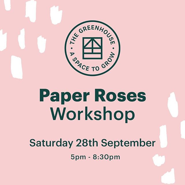 Come join us for an evening of paper rose making. @annascandi will take you step by step on a crepe paper journey and all you need to make these beauties is a pair of scissors, paper and glue! . . All materials will be provided including card stock paper, scissors, glue, and a pack of paper to take home. . . Refreshments will be ready and waiting for you so all you need to do now is book on! 👉🏼Tickets are available on Eventbrite from Annas' profile. 👈🏼 . . Saturday 28th September 5pm - 8.30pm . .  #paperflowers #papercrafts #coworking #coworkingspace #coworkingspaces #sharedworkspace #flexible #workspace #office #work #wework #meanwood #independentleeds #smallbusiness #hotdesk #entrepreneur #creative #innovator #freelance #digital #futureofwork #leedslife #craftisbest #leedspopup #meanwood #leedsevent #openstudio @artfullmag