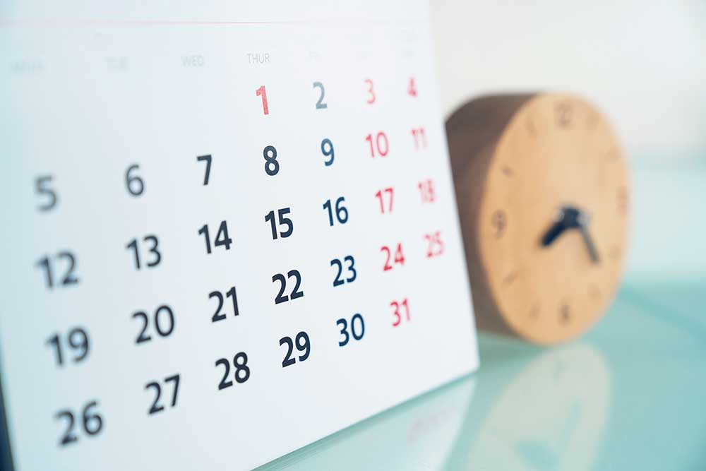 Events Calendar - explore important dates