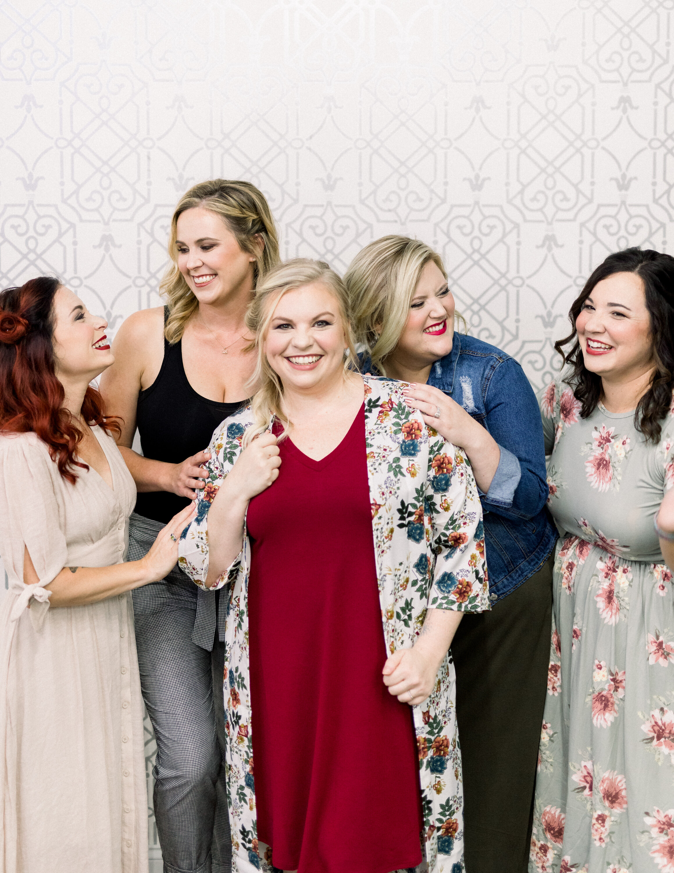 5 women - from differing perspectives within infertility and loss communities - were given a day of pampering by The Color Room in Wentzville, MO. Three of these women - Justine, Katie, and Jen - will be featured this month for Pregnancy and Infant Loss Awareness Month.