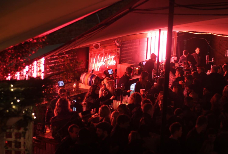 Night Tales pop-up, Shoreditch