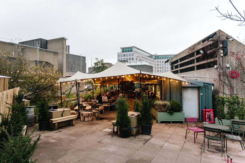 Southbank Centre rooftop garden