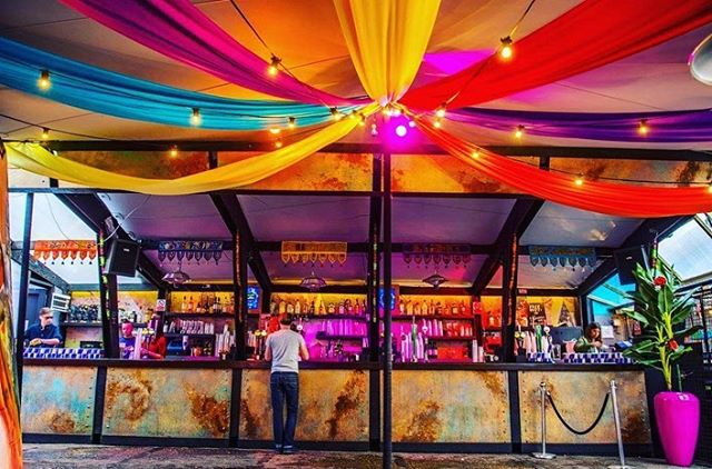 You don't need to leave the city to catch a festival vibe. It's right here is the city. Here are a few ways our clients have jazzed up their #stretchtents for day parties and weddings.  #decoreinspiration #transformingspaces #stretchtent #eventprof #marqueehire #stretchtentspecialists #bespoke #madetomeasure #rooftopparty