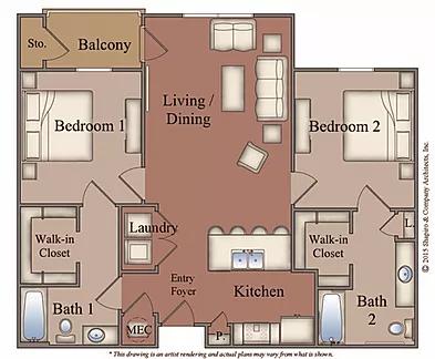 Floor Plans Crescent Bluff