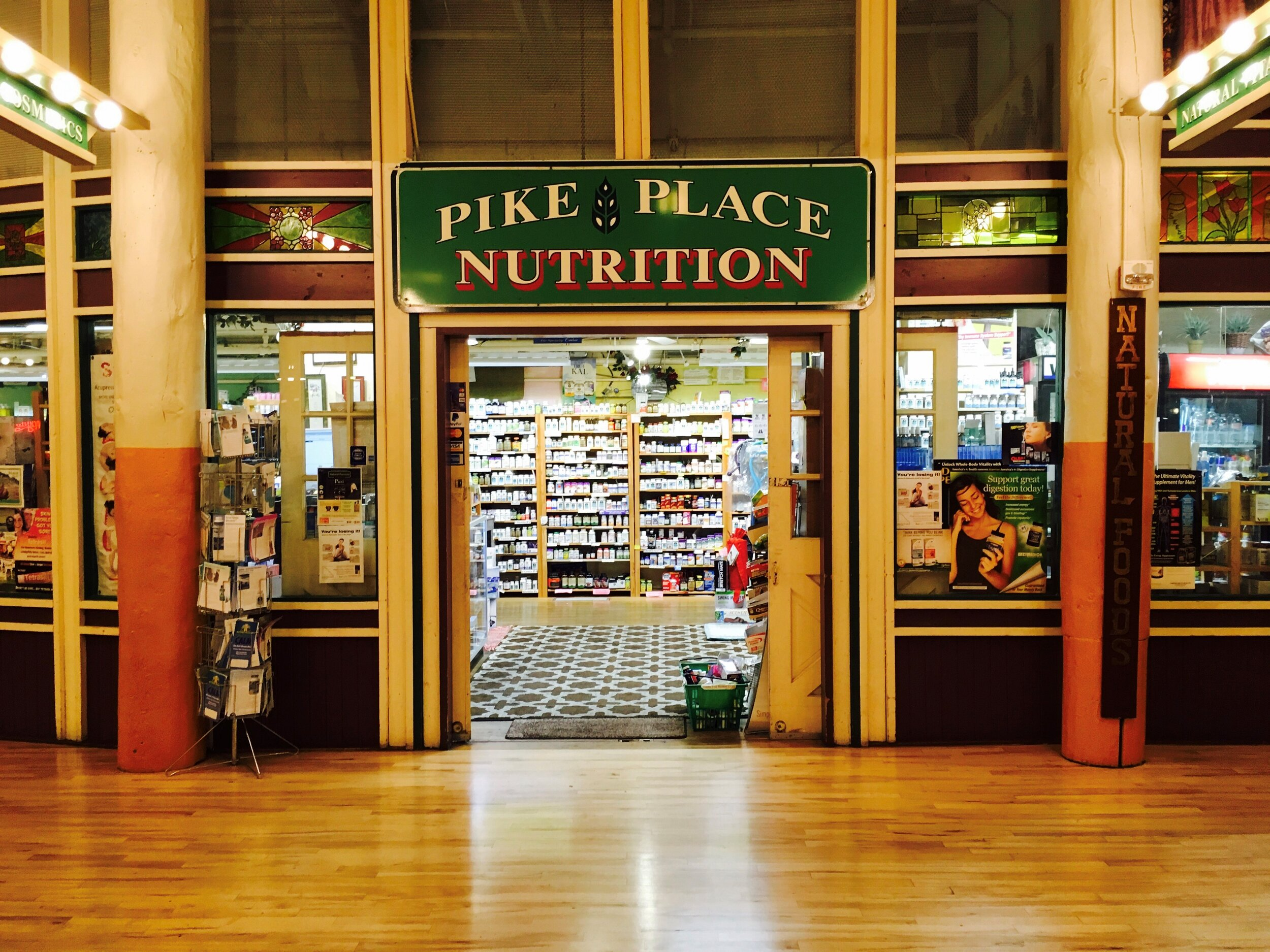Pike Place Nutrition has been a Natural Supplement store since 1990.