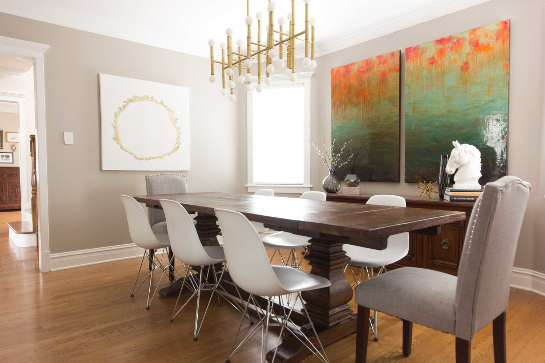 Modern Farmhouse Dining Room Design Inside