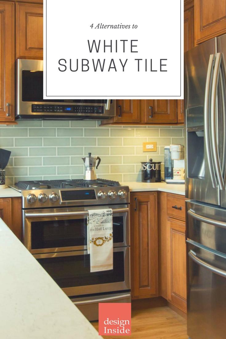 4 Alternatives To White Subway Tile Backsplash Design Inside