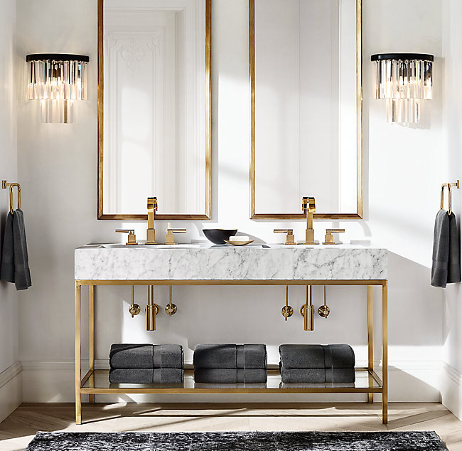 5 Designer Roved Bathroom Vanities