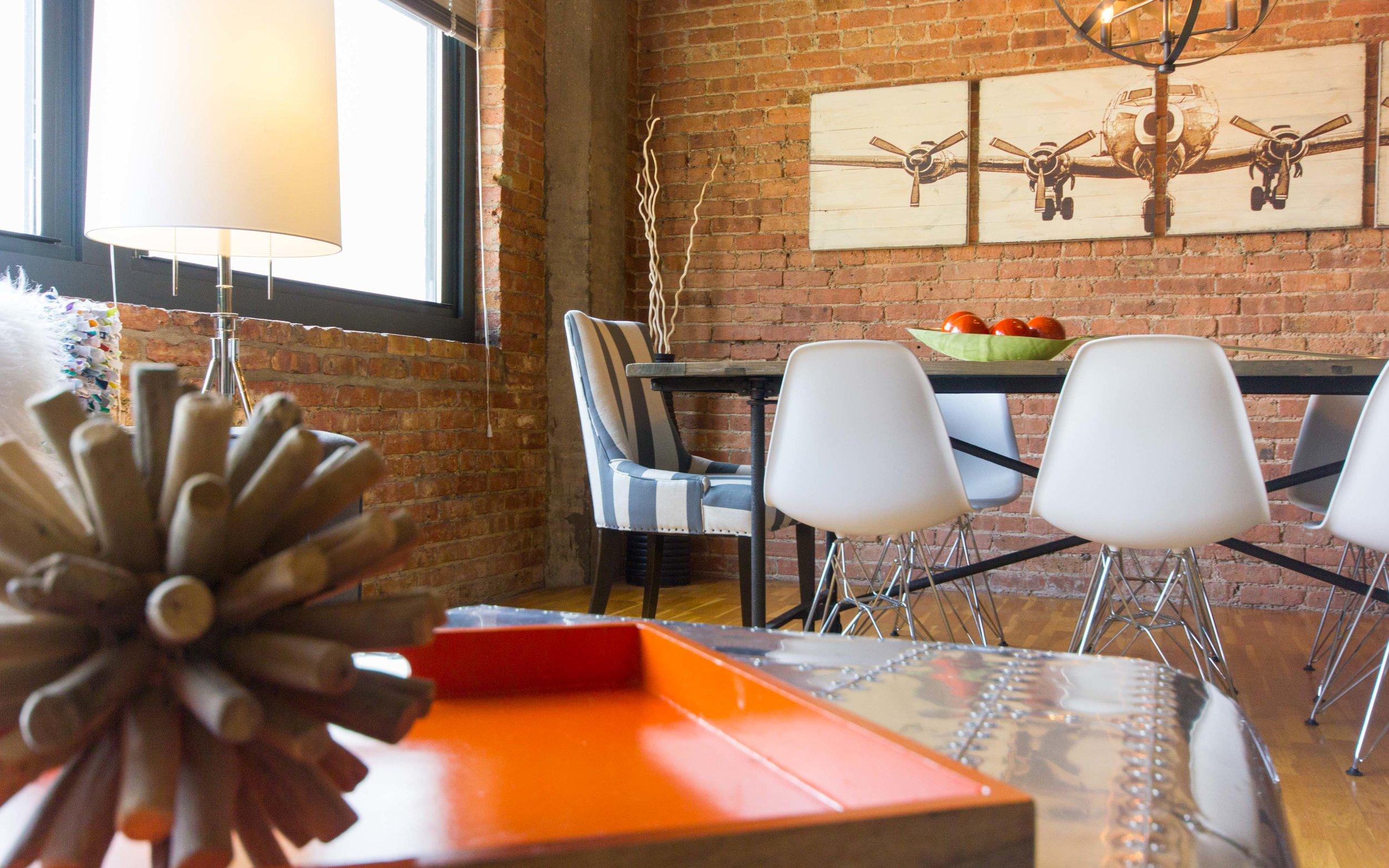 Rustic Modern Chicago Living Room Loft — Design Inside