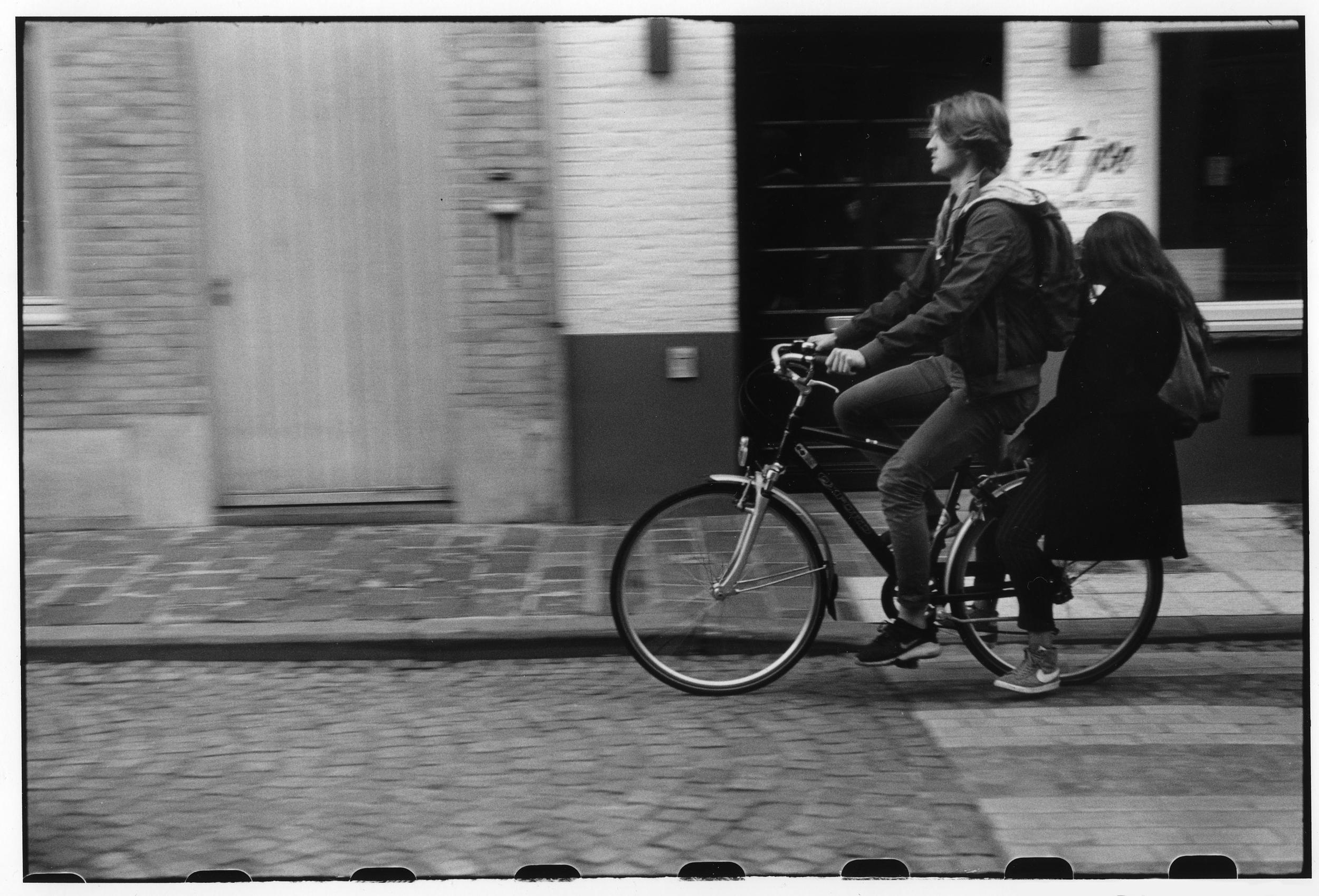 Cyclists à Bruges