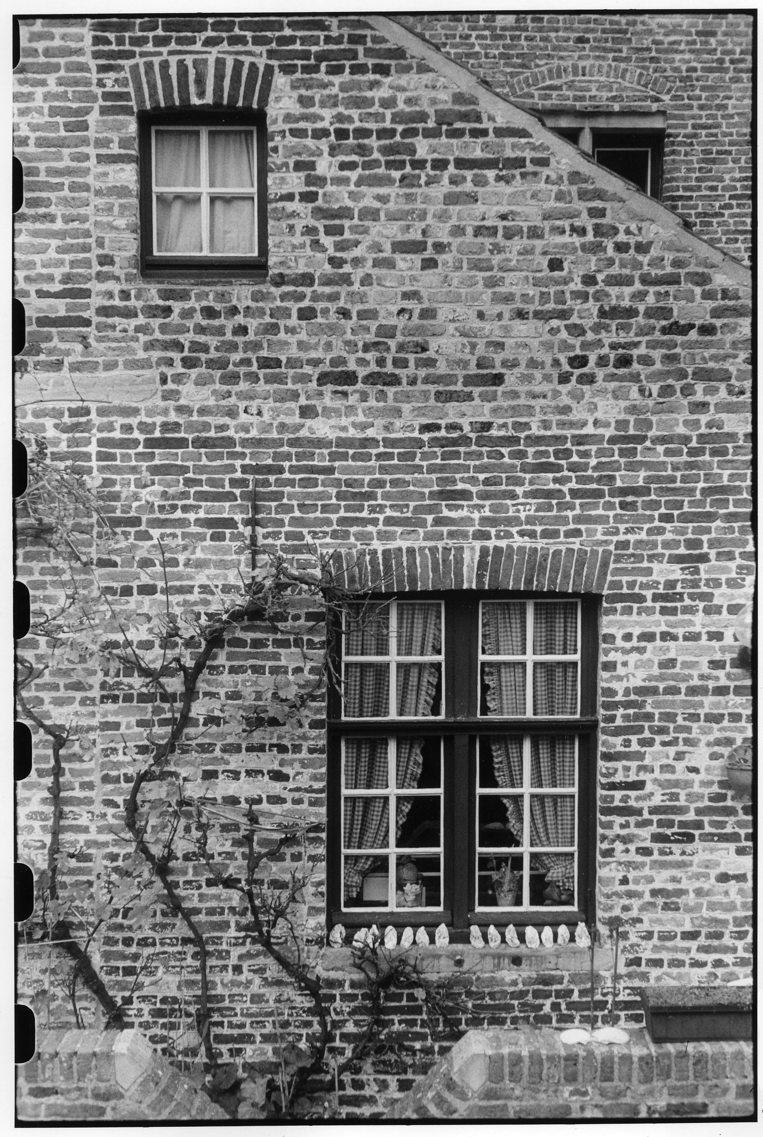 Les fenêtres à Bruges