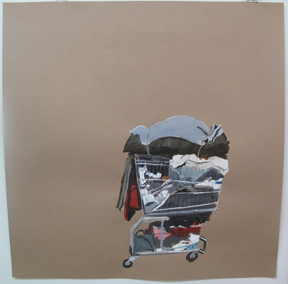 Cart with Converse, Laura Pawela