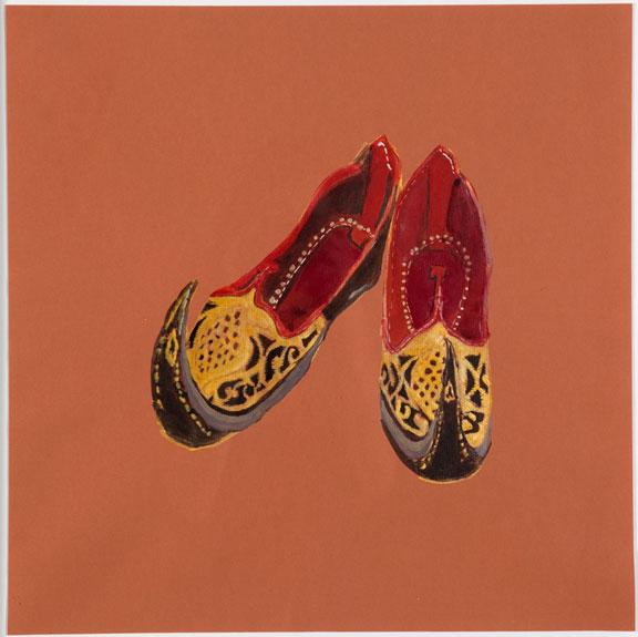 Rajasthani Gypsy Shoes, Dr. Gabrielle Francis