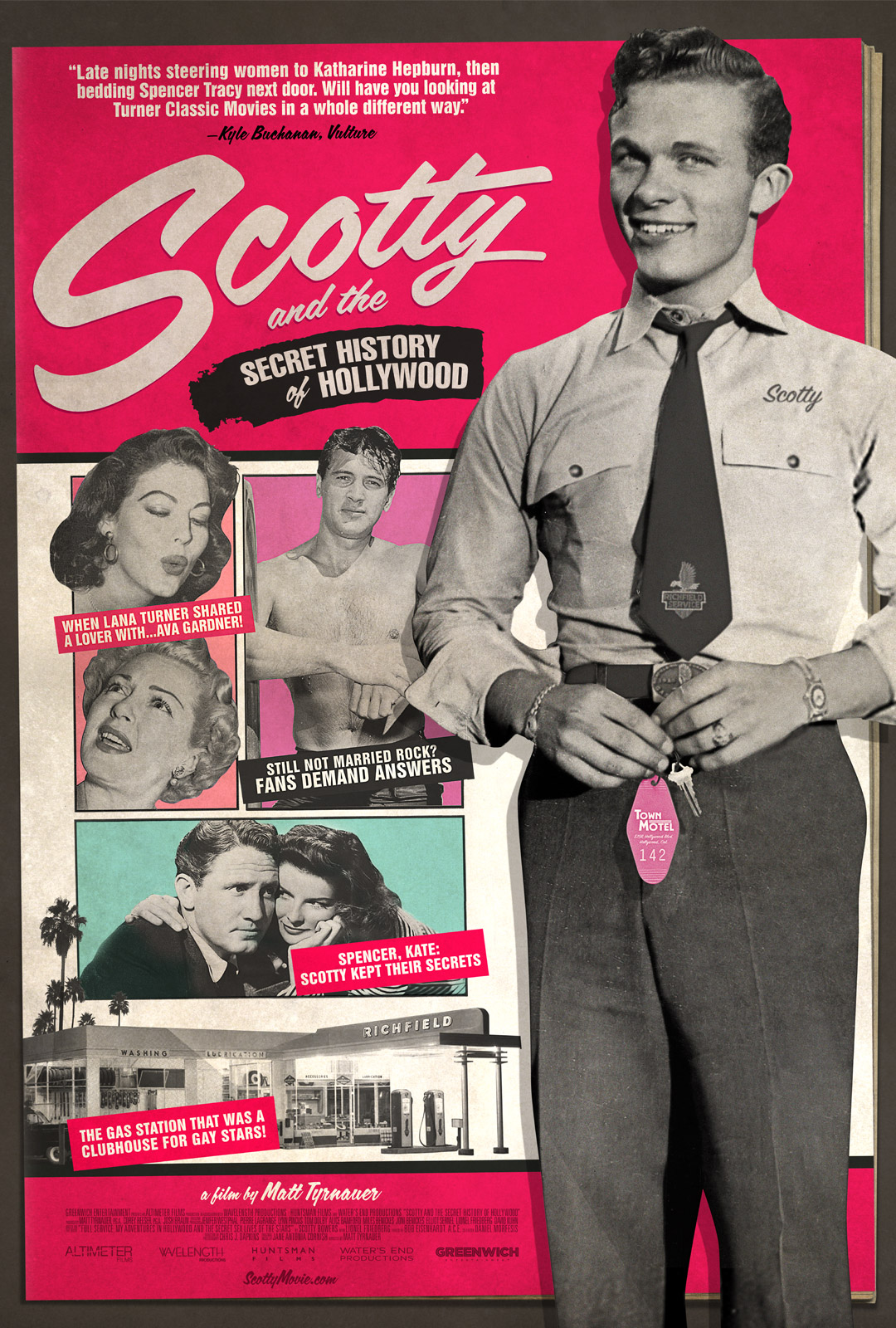 Scotty and the Secret History of Hollywood - OVERVIEW: A deliciously scandalous portrait of Scotty Bowers, who after decades of discretion wrote a best-selling memoir detailing his secret life during Hollywood's Golden Age as a legendary escort and sexual procurer to closeted gay celebrities including Cary Grant, Spencer Tracy, Katharine Hepburn and many more.FILMMAKER: A film by Matt Tyrnauer, Director of Where's my Roy Cohn, Studio 54, Citizen Jane, and Valentino: The Last EmperorWINNER: Critics' Choice Documentary AwardsPRESS: The New York Times, Deadline, The Hollywood Reporter, The Wrap, Huffington Post