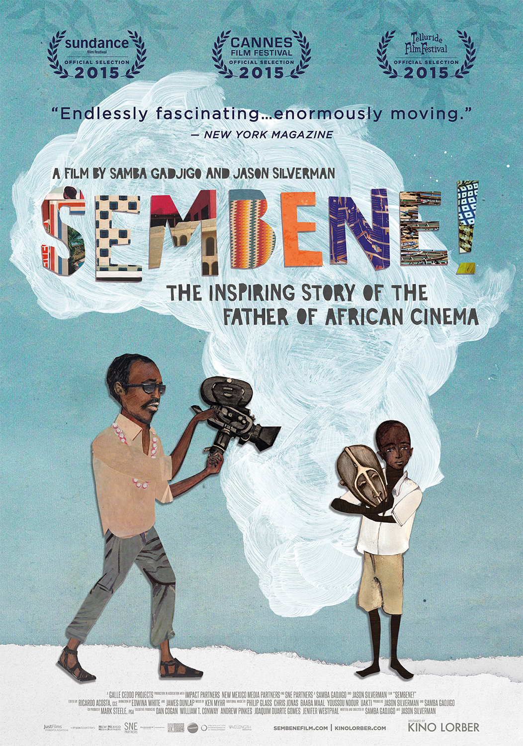 sembene! - OVERVIEW: Sembene! tells the unbelievable true story of the father of African cinema, the self- taught novelist and filmmaker who fought, against enormous odds, a 50-year battle to return African stories to Africans.FILMMAKERS: A film by Samba Gadjigo and Jason Silverman.Twitter: https://twitter.com/SembeneFilmNOMINEE: Sundance Film Festival and Cannes Film FestivalPRESS: Variety, The Hollywood Reporter, The New York Times, The Washington Post, Indiewire