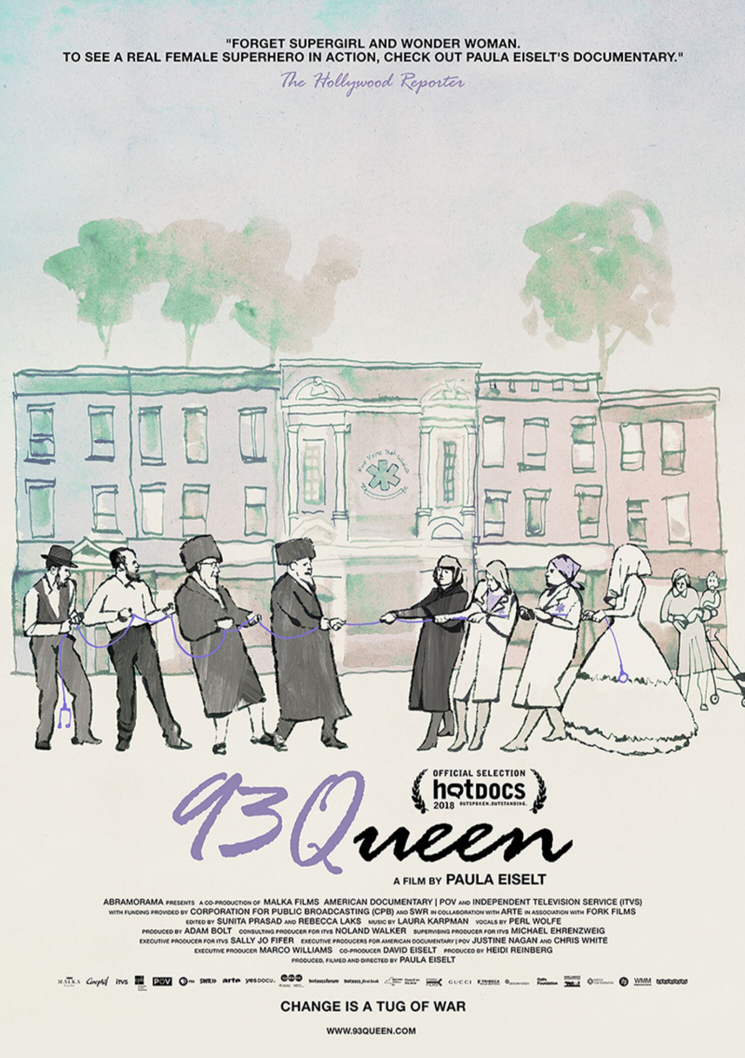 93queen - OVERVIEW: In a Hasidic enclave in Brooklyn, there are seemingly endless services tailored for the community—stores in Yiddish, school buses and even a dedicated EMS. Yet the corps is made up entirely of men, and one group of women wants to change that. On a mission to start the city's first all-female volunteer EMS corps, these women are set on shattering the glass ceiling in the unlikeliest of communities.FILMMAKER: A film by Paula Eiselt, also known for Rachels Rettungsdienst: Ultraorthodoxe Jüdinnen im Einsatz; P.O.V.'s Bronx Princess; and Priscilla.Official Selection: HotDocsPRESS: The New York Times, Los Angeles Times, IndieWire, The Hollywood Reporter, The Guardian