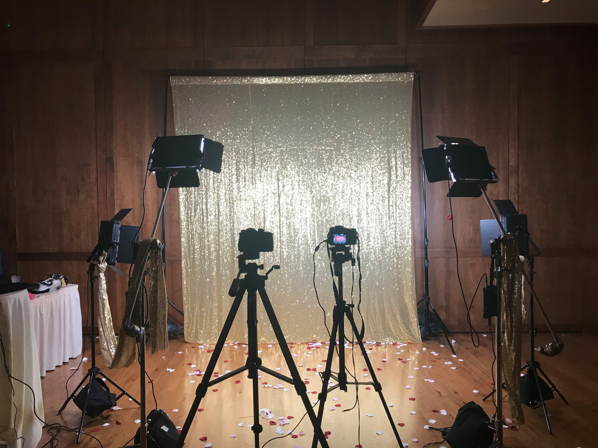 On location! Our photo booth and slo mo video booth up on display at Varsity Hall in Wisconsin! We travel all around the midwest! Check out our photobooth page for more info on pricing! Photobooth Rentals Madison WI