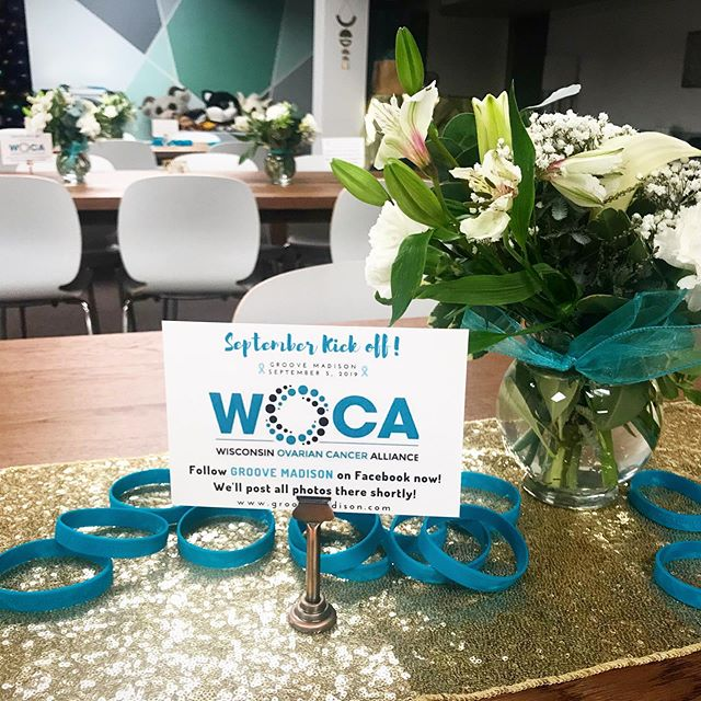 What a beautiful day for the WOCA Kickoff! @wi_ovarian_cancer_alliance