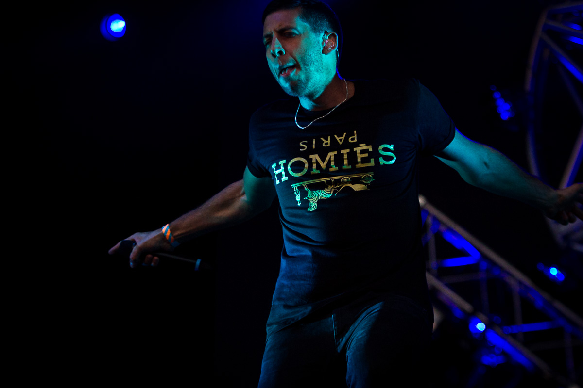 Example at Parklife festival