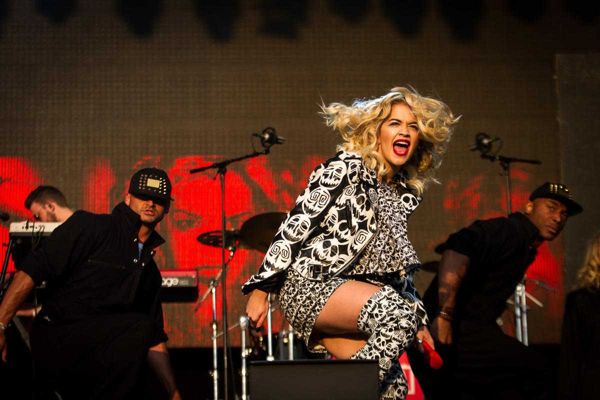Rita Ora at Parklife festival