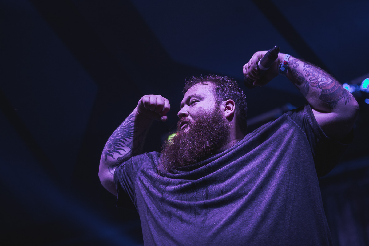 Action Bronson at Beacons festival