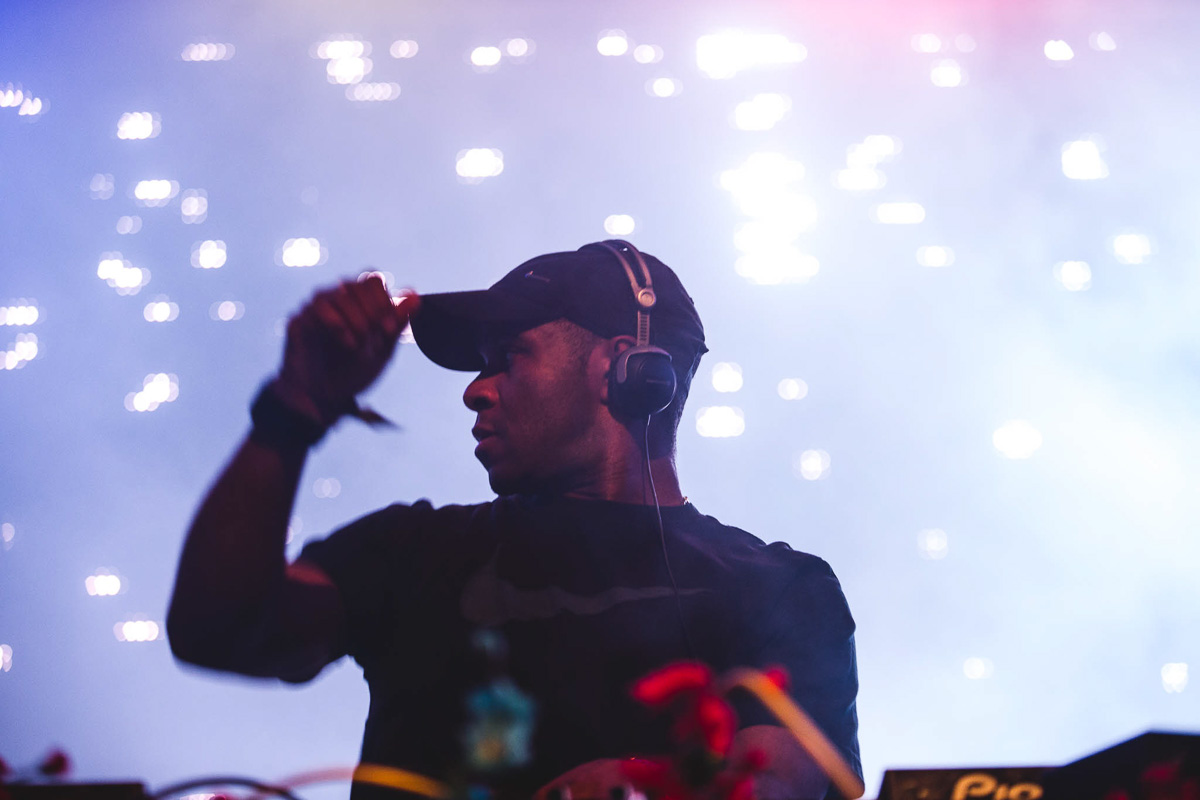 DJ EZ at Secret Garden Party
